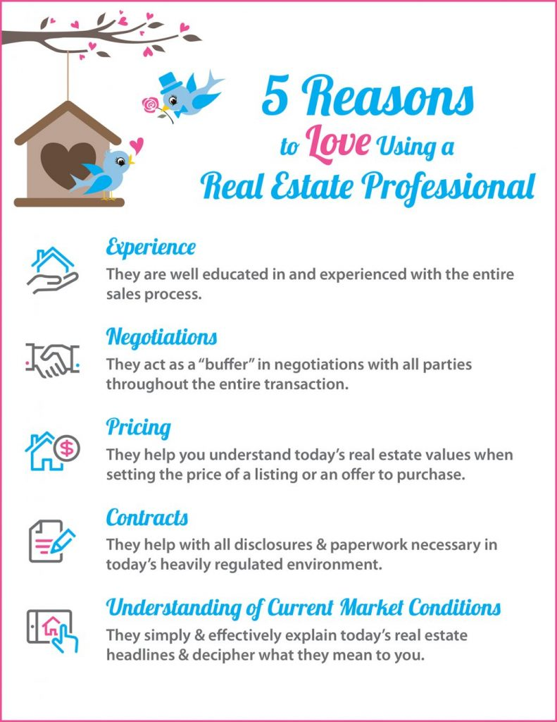 reasons to love a real estate professional